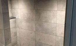Betonlook Tegels Badkamer : Badkamer keramische tegels betonlook