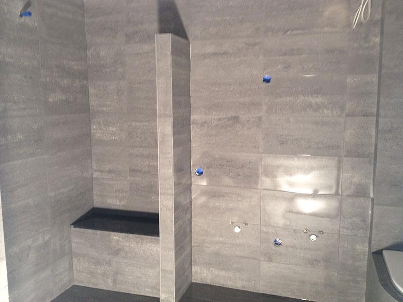Mozaiek Badkamer Tegels : Badkamer tegels betonlook