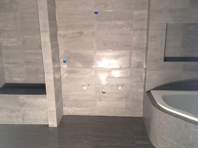 Badkamer Tegels Amsterdam : Badkamer tegels betonlook