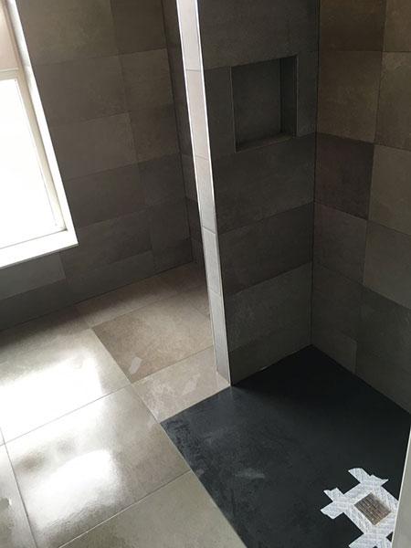 Tegelzetter menno burgers amsterdam natuursteen mozaiek vloeren wanden badkamer zwembad vloer - Badkamer keramische ...