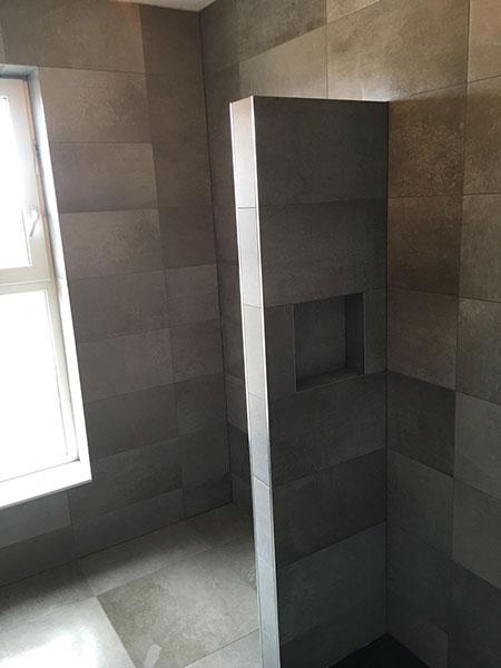 Badkamer keramische tegels diverse formaten