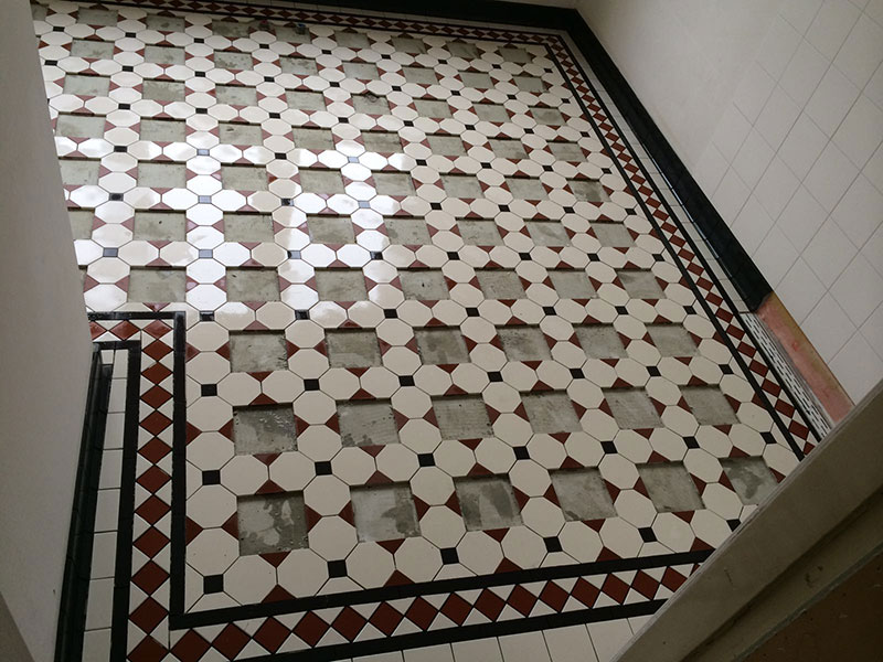 Badkamer Tegels Amsterdam : Badkamer winckelmans patroonvloer